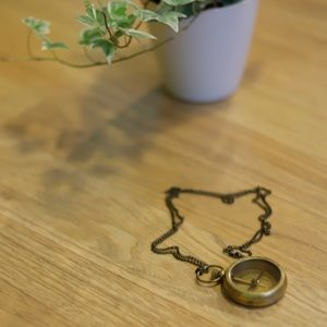 Vintage Compass necklace
